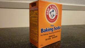 Doosje baking soda oftewel zuiveringszout
