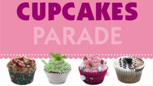 Omslag Cupcakesparade van Gail Wagman