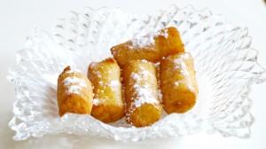 Gandos, broodkoekjes met kokos