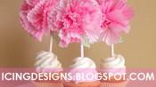 cakepops versierd met cupcakevormpjes