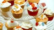 Oranjecupcakes met sinaasappel