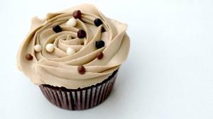 Een volmaakte cappuccinocupcake