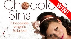Doe mee met de prijsvraag van Toetjes en taarten en win Sweet Chocolate sins van Nanette Booij
