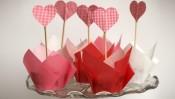 Valentijnsmuffins