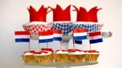 Koningscupcakes