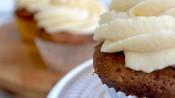 Toffeecupcakes met dulce de leche