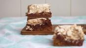 Chocoladekoekjes met meringue