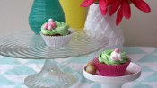 Wortelcupcakes met konijntjes